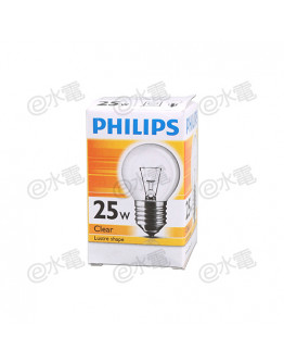 Philips Lustre 25W E27 screw-in base (Clear)