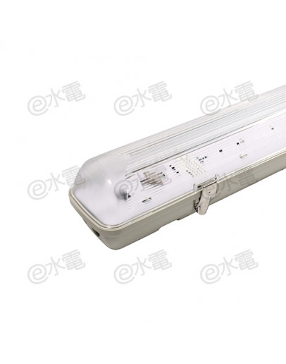 Philips TCW 080 T5 IP66 Waterproof Batten (Exclude Lamps) - TCW 080/114 EBC