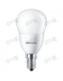 Philips LED Bulb 6.5W E14 Screw-in base 6500K Cool Daylight  P50