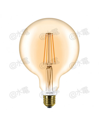 Philips LEDClassic 7-60W G120 E27 2000K GOLD (Dimmable)