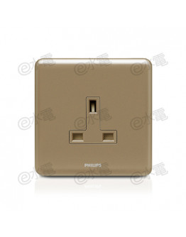 Philips Origamistyle 13A 1 Gang Socket (CoCo)