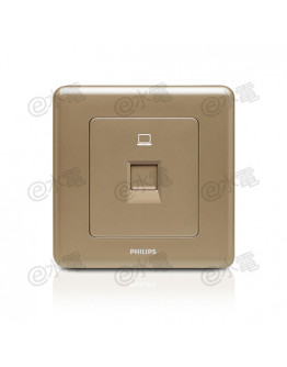 Philips Origamistyle 1 Gang RJ45 Data Socket (CoCo)