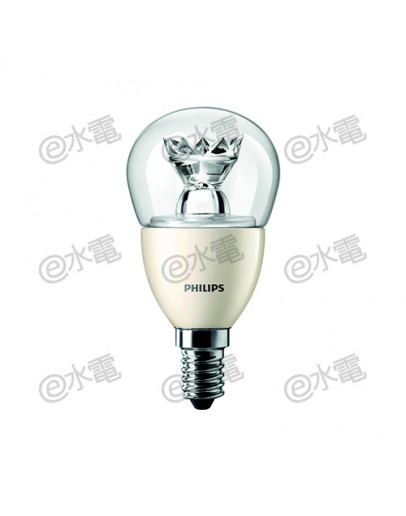Philips Master LED Luster 3.5W E14 Screw-in base Warm White P48 (Dimmable)