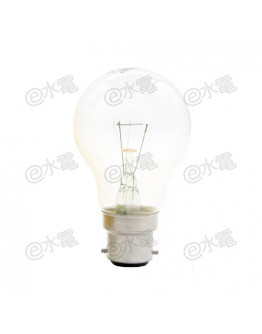 Philips GLS Incandescent Lamp 60W B22 (Clear)