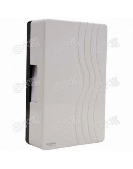 Schneider Electric Powex 99AC Mechanical ding dong door chime (AC 220-240V) (White)