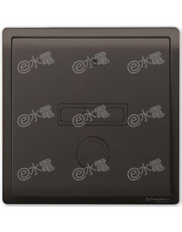 Schneider Electric PIENO 13A 1 Gang Fused Connection Unit (Matt Black)