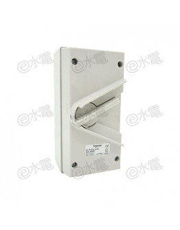 Schneider Electric Kavacha 440V 63A Triple Pole Isolator Switch (Grey)
