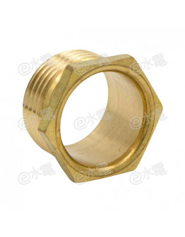 COT 20mm Light Brass Male Brass