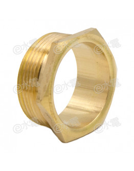 COT 32mm Light Brass Male Brass