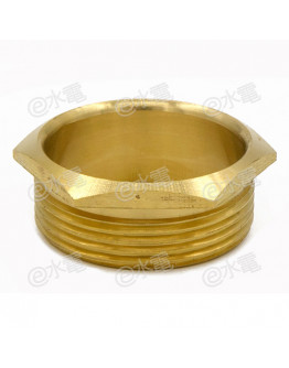 COT 1.5 Inch Light Brass Male Brass