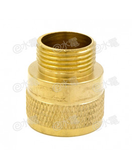 COT 20×20mm Brass Female Adaptor