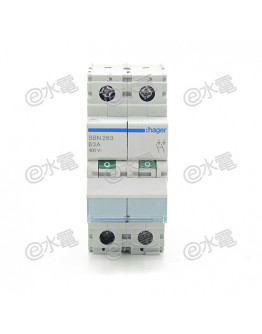 Hager Switch Disconnector 2P 63A