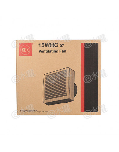 "KDK 15WHC07 6"" Window Mount Ventilating Fan"