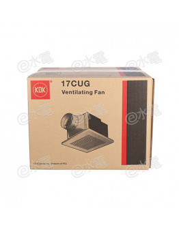 "KDK 17CUG 7"" Ceiling Mount Ventilating Fan (85CMH Air Volume)"