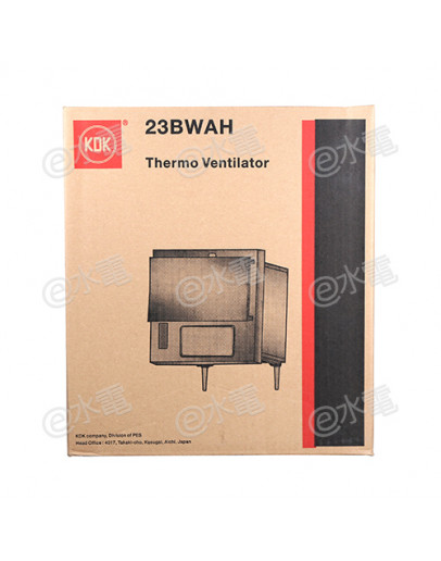 KDK 23BWAH Slim Type Window Mount Thermo Ventilator with remote control