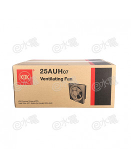 "KDK 25AUH07 10"" Wall Mount Ventilating Fan (IPX4)"