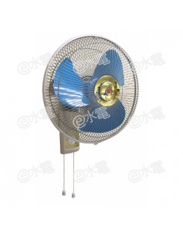 "KDK M35CH 14"" Wall Fan Blue"