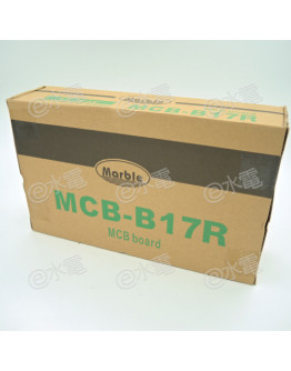 Marble MCB-B17R 17-ways MCB Board (Suitable for RCCB)