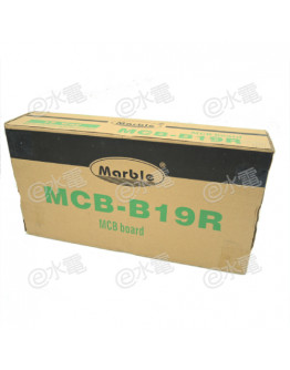 Marble MCB-B19R 19-ways MCB Board (Suitable for RCCB)