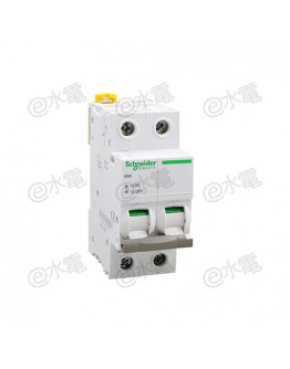 Schneider MG iSW 63A 2 Pole AI isolating switch