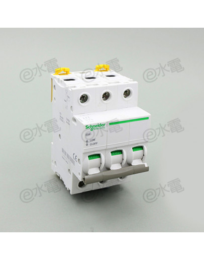 Schneider MG iSW 63A 3 Pole AI isolating switch