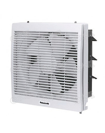 "Panasonic FV-25DL307 25cm/10"" Square Type Wall Mount Ventilating Fan (White)"