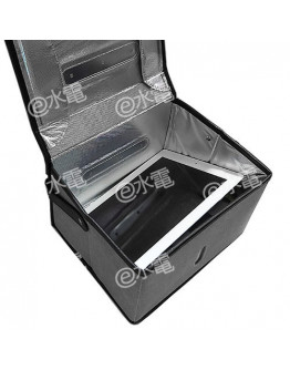LED UVC Large Volume Anti-COVID Portable Sterilising Box Grey (iPad can be put into)